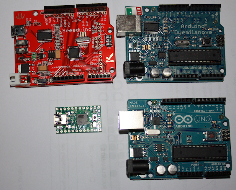 Serial Latency: Teensy vs. Arduino
