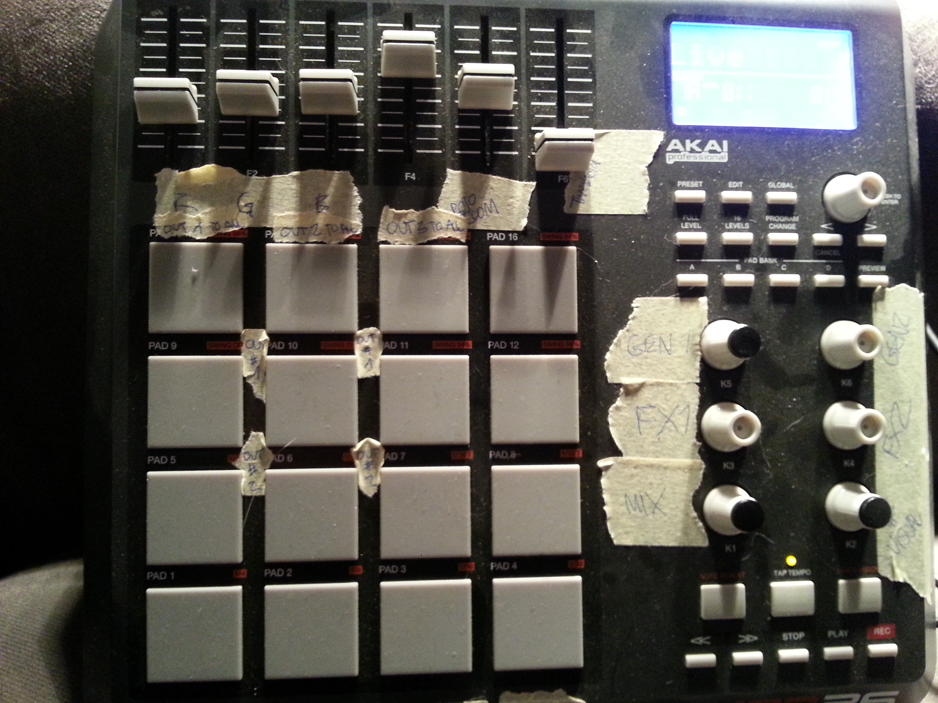 PixelController Tutorial: Use a Midi device to control PixelController