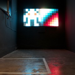 PixelInvaders at SOON Gallery Bern, ON/OFF